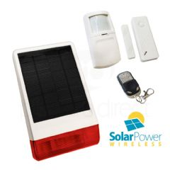 CastleGate Wireless Solar House Alarm Solution 2